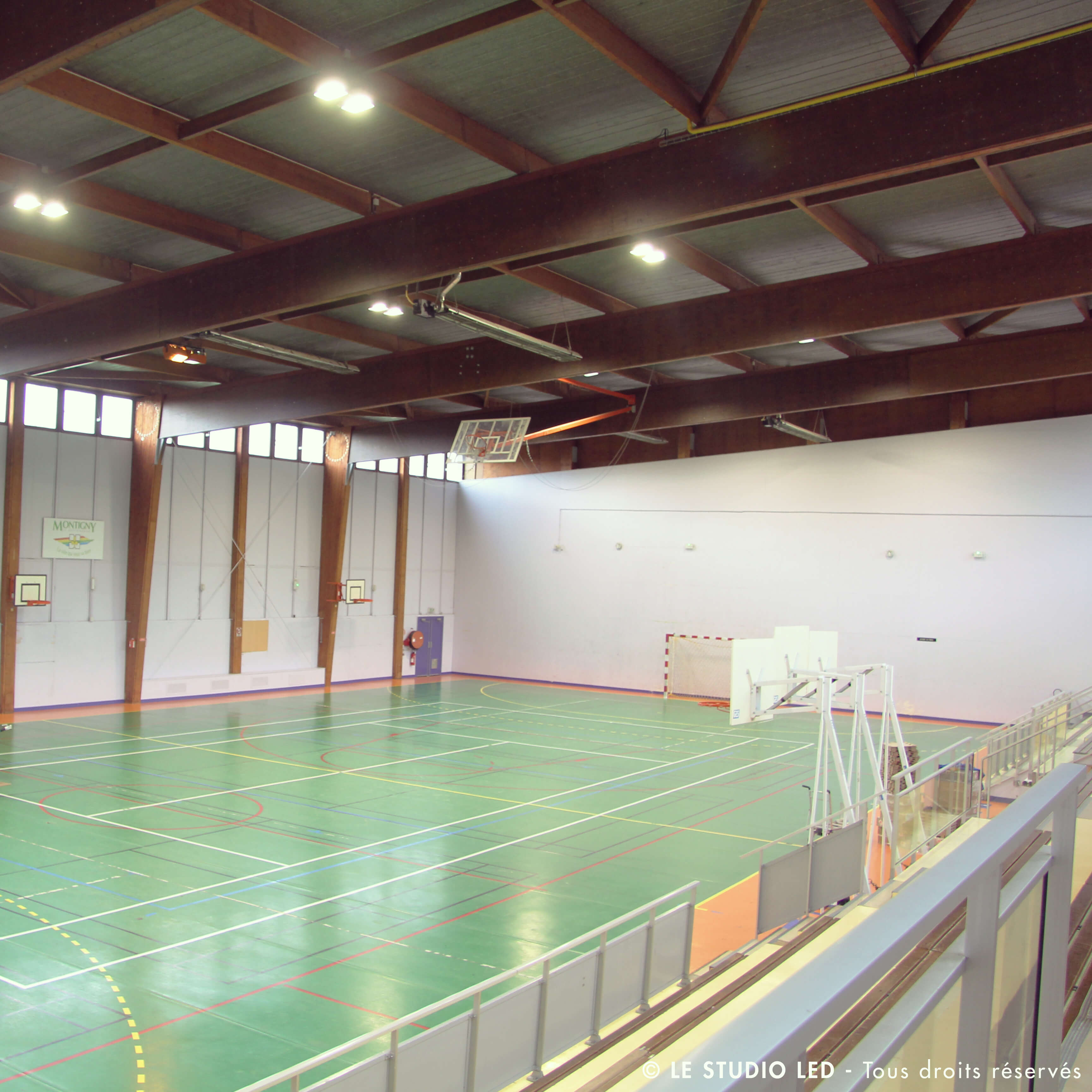Gymnases Montigny